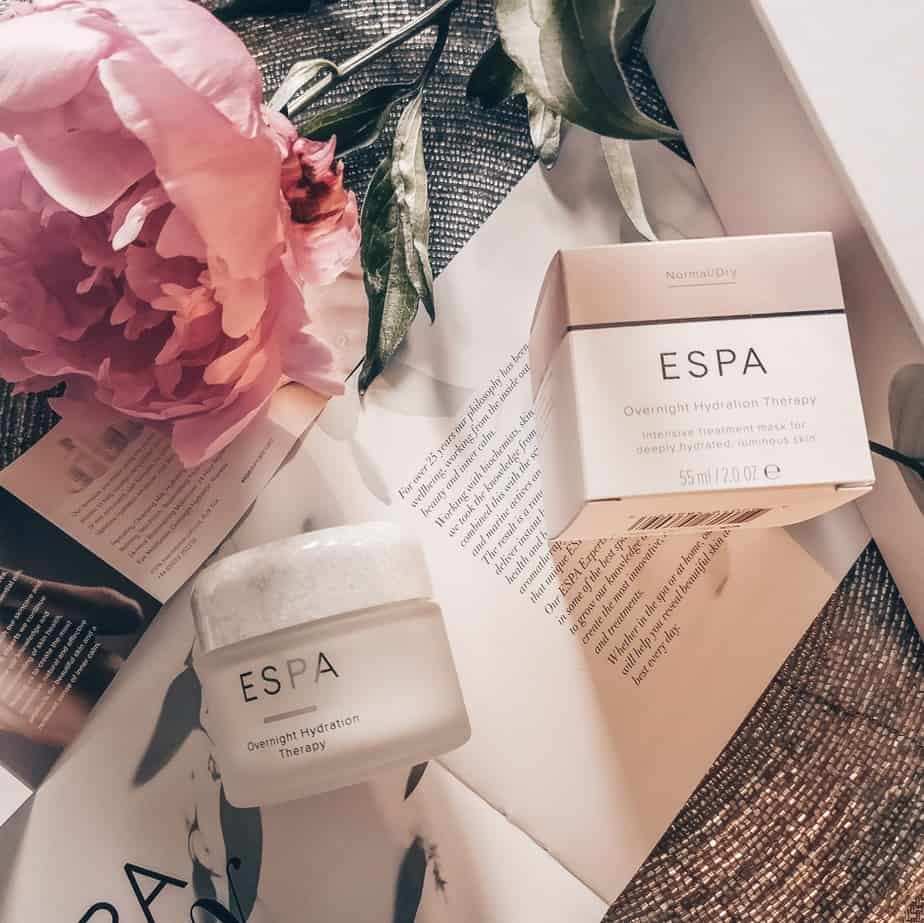 Ночная маска Espa Overnight Hydration therapy