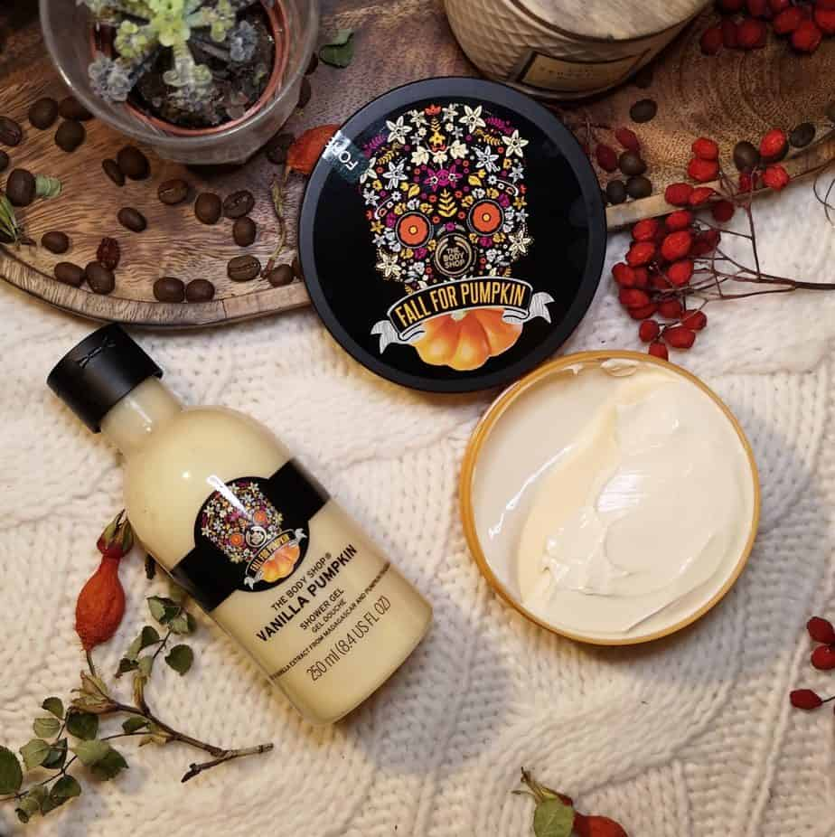 the body shop vanilla pumplin body butter