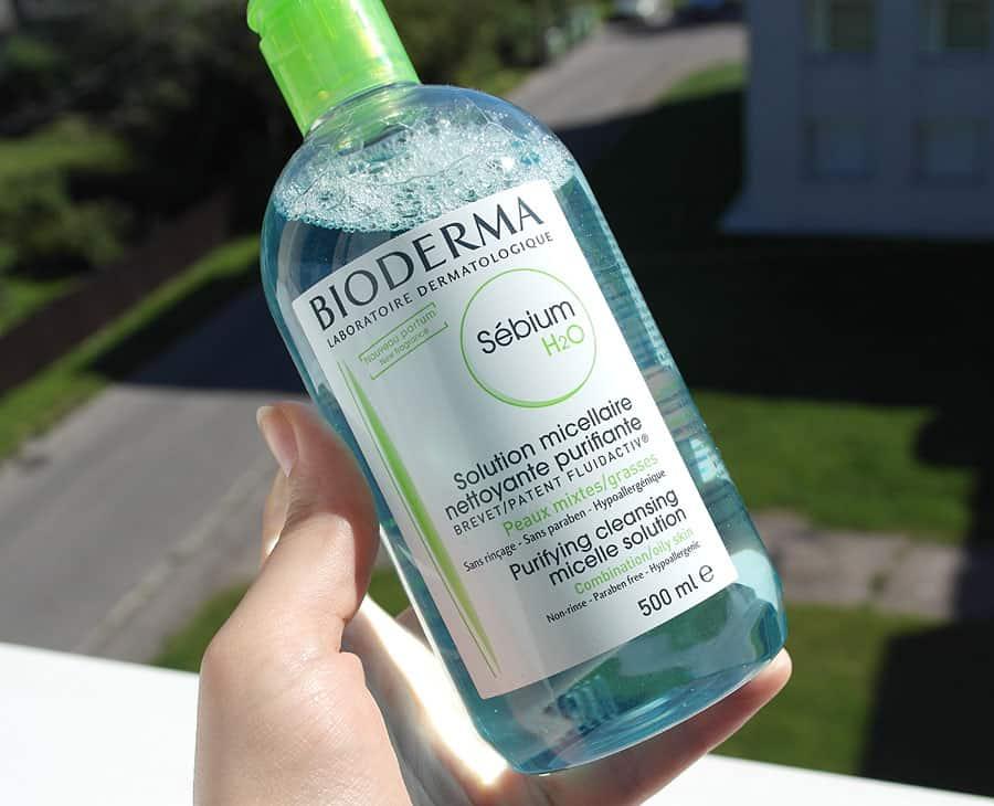Мицеллярная вода Bioderma Sebium h2O для жирной кожи
