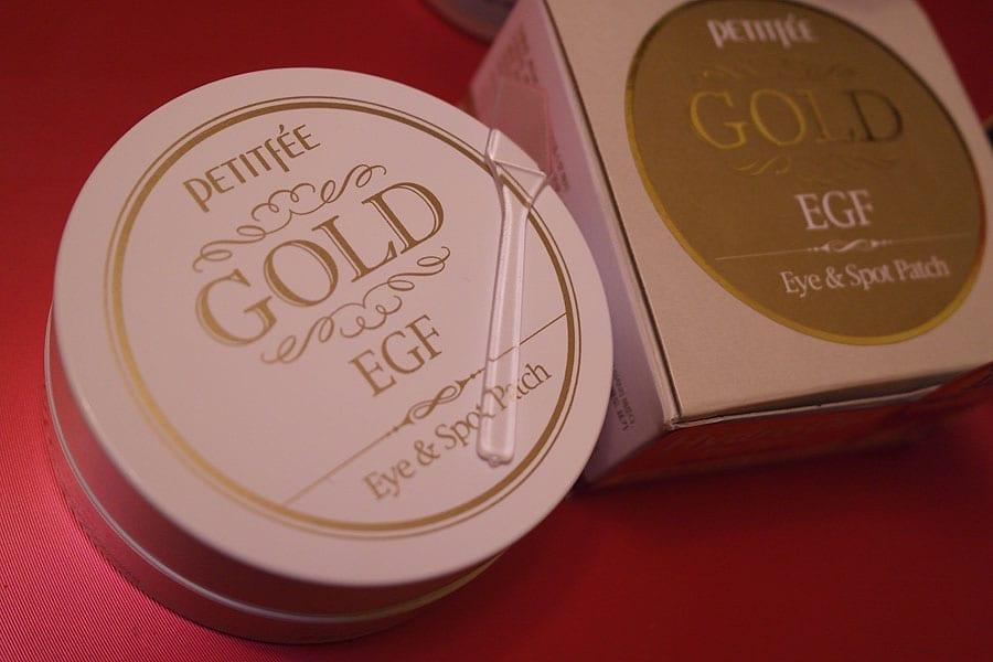 Золотые гидрогелевые патчи для век Petitfee Gold & EGF