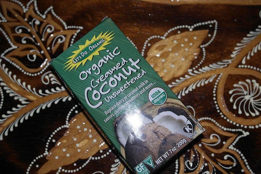 Взбитая кокосовая паста Edward & Sons Organic Creamed Coconut