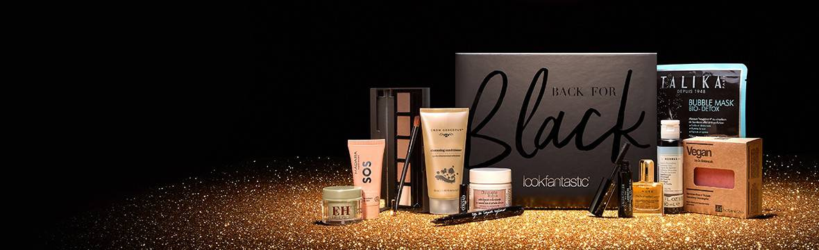 Lookfantastic Back for Black Limited Edition Beauty Box наполнение