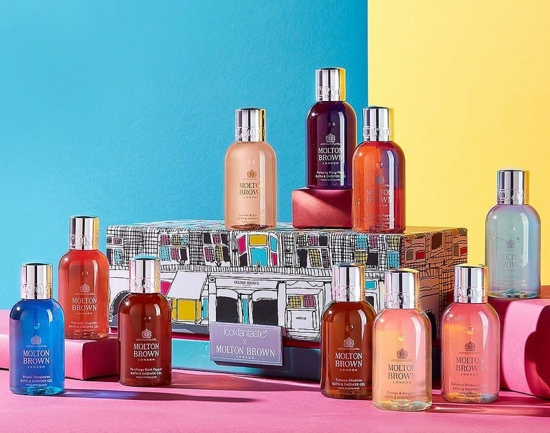 LookFantastic x Molton Brown Limited Edition Beauty Box наполнение