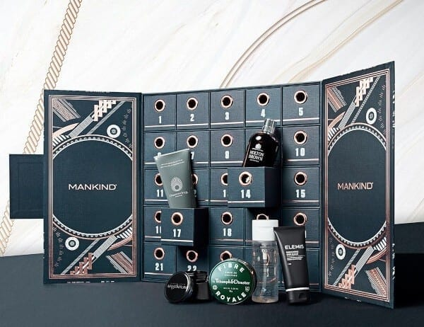 Наполнение Mankind Advent Calendar The Ultimate Grooming 2018