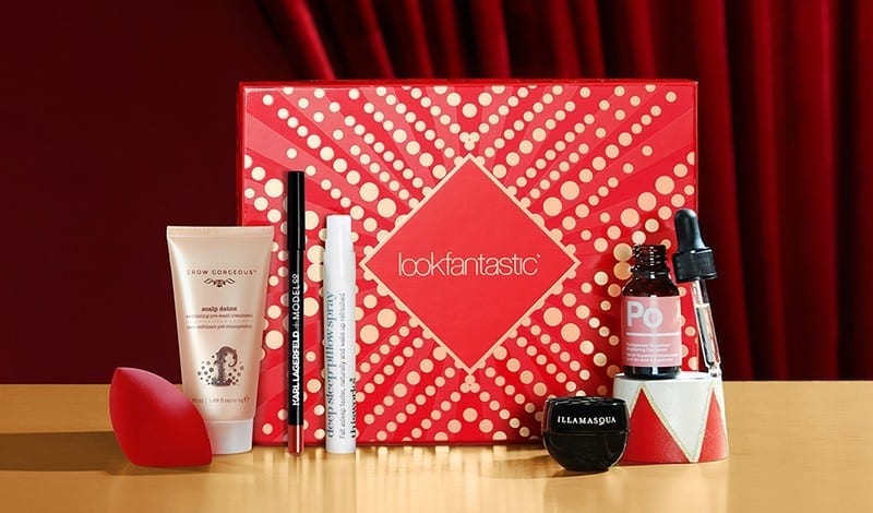 Lookfantastic Beauty Box December 2018 наполнение
