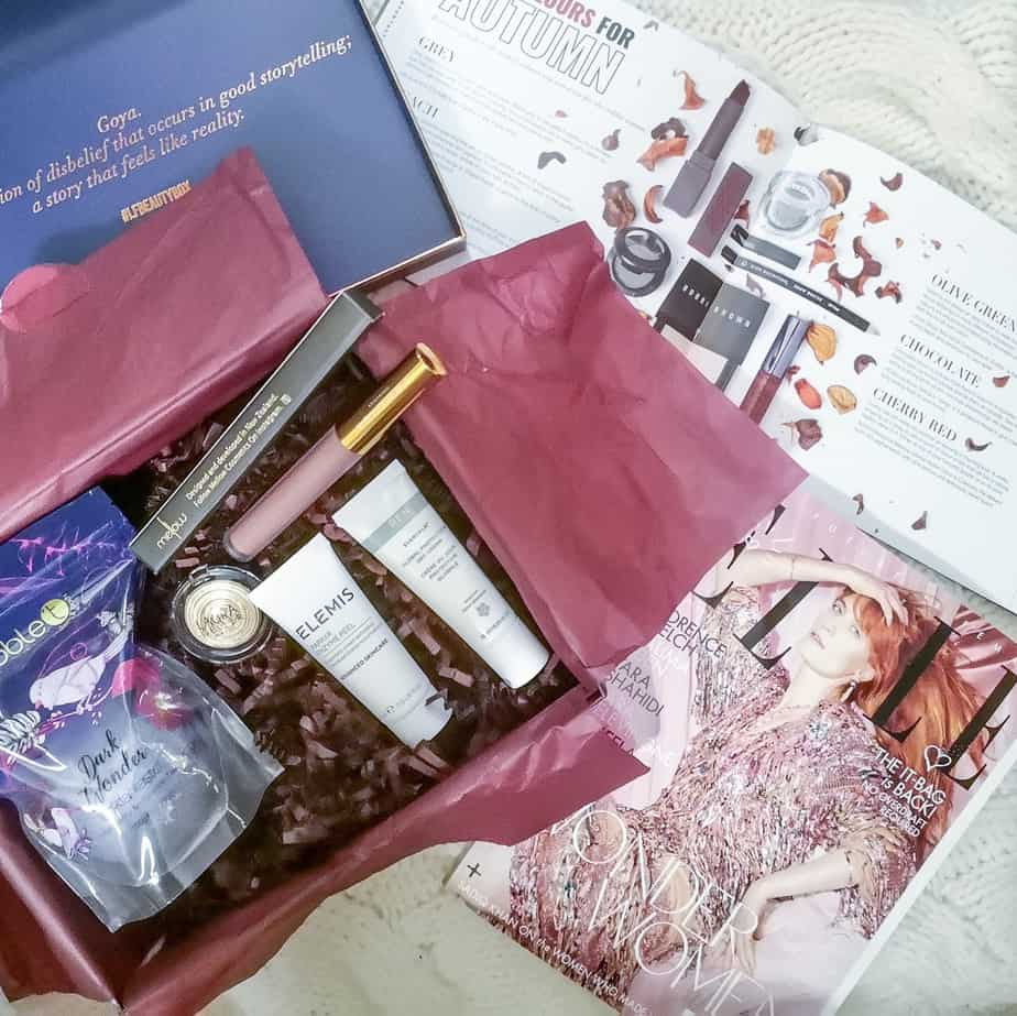 Lookfantastic Beauty Box November 2018 мой отзыв