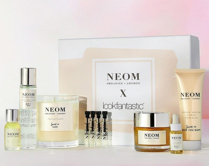 LookFantastic X NEOM Limited Edition Beauty Box Наполнение