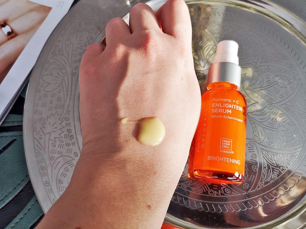 Andalou Naturals Enlighten Serum Turmeric + C Brightening - отзыв