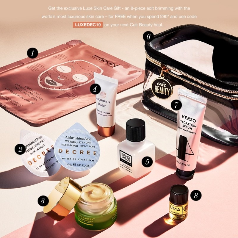 Cult Beauty The Luxe Skin Care Gift - наполнение