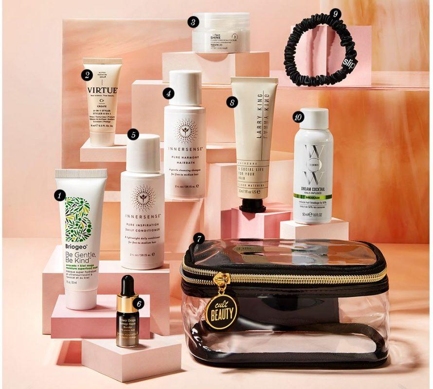 Гуди бэг Cult Beauty Hair Care Heroes Kit - наполнение и как получить