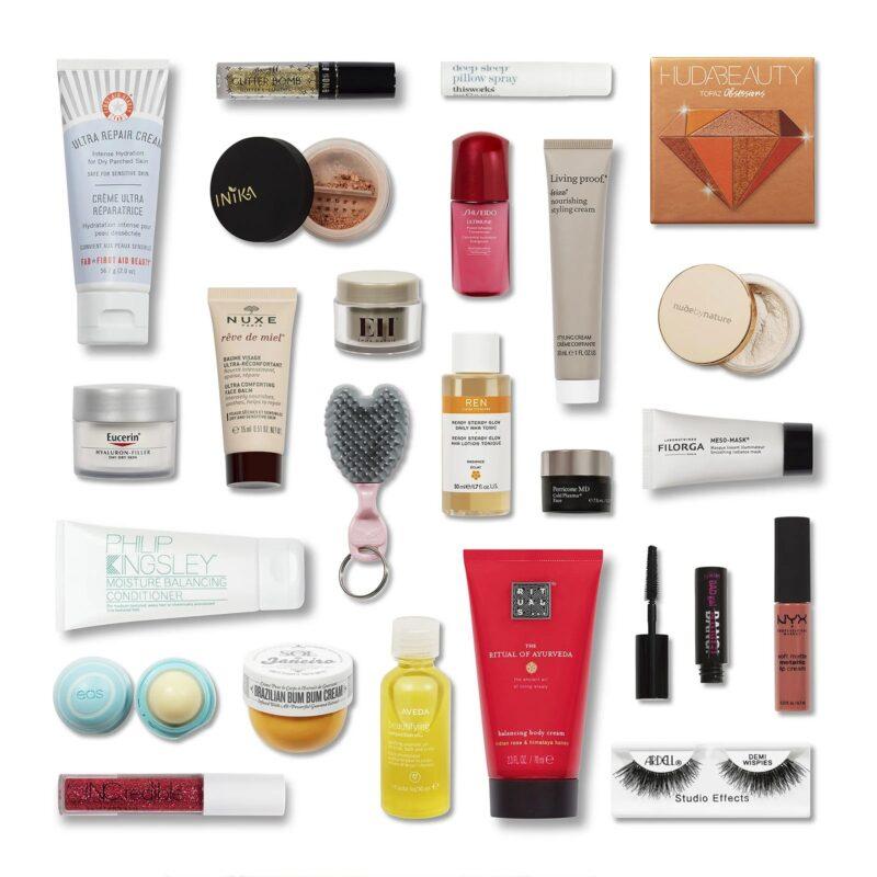 Calendrier Feelunique.Advent Kalendari Feelunique 24 Day Beauty Advent Calendar