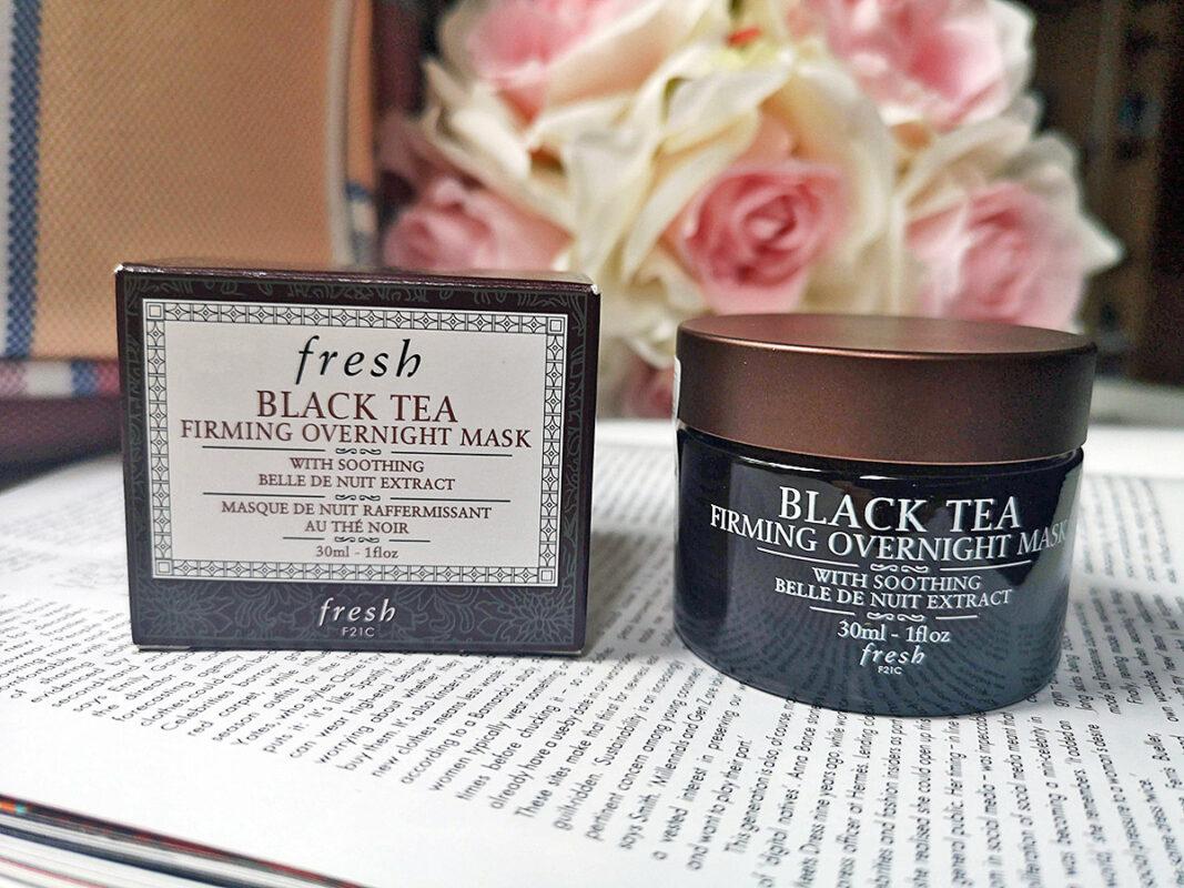 Укрепляющая Ночная маска Fresh Black Tea Firming Overnight Mask - отзыв