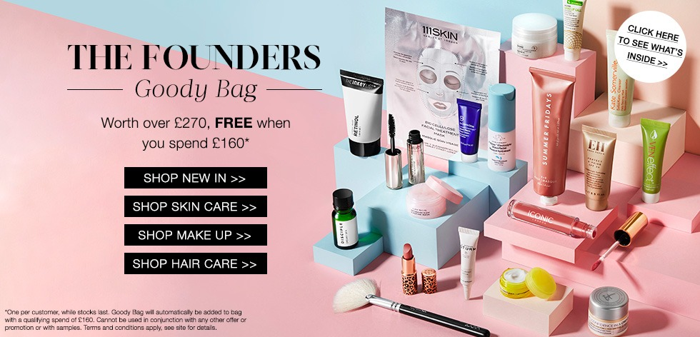Cult Beauty The Founders Goody Bag - наполнение
