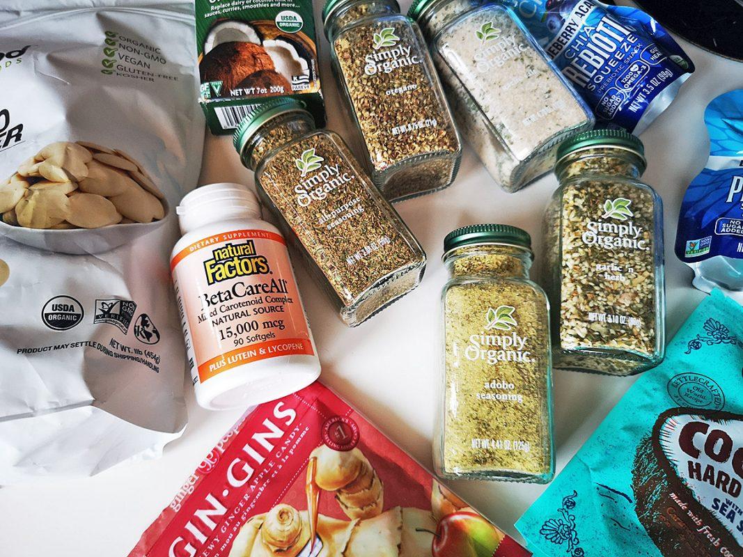 Мои покупки с iHerb - много еды