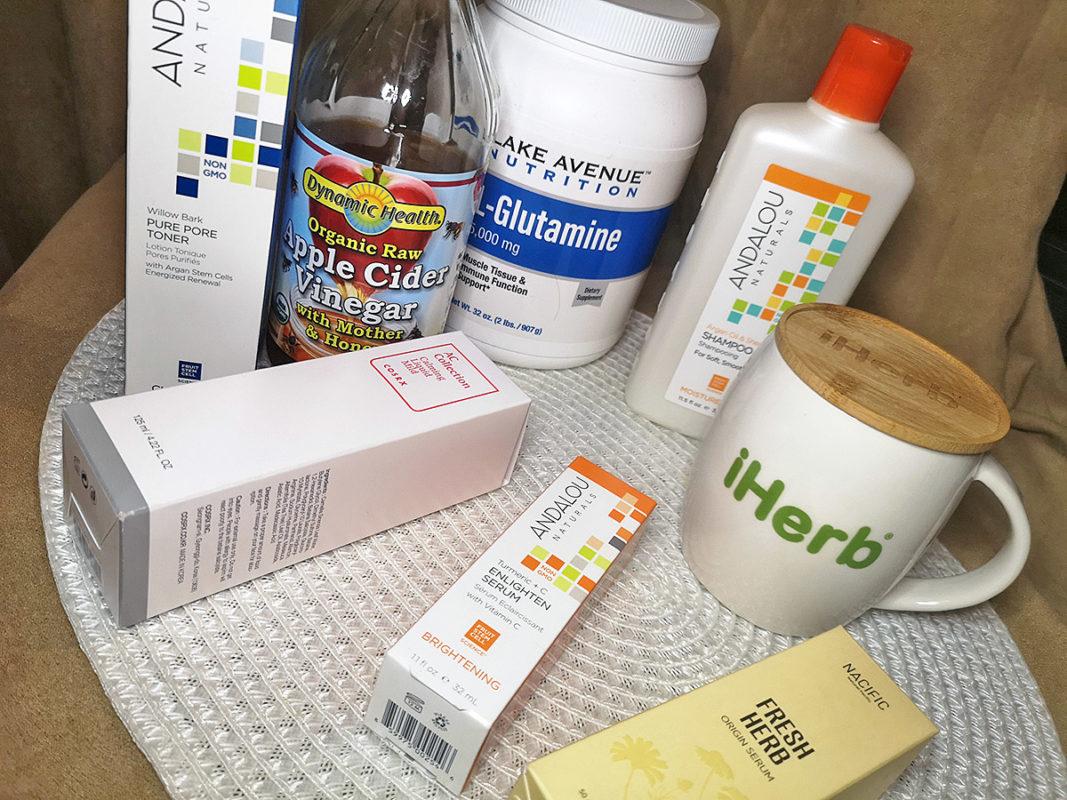 Покупки с iHerb - Andalou Naturals, CeraVe, Cosrx