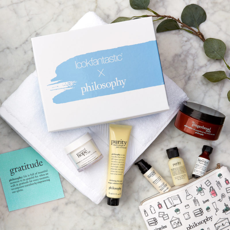 Lookfantastic x Philosophy Limited Edition Beauty Box наполнение