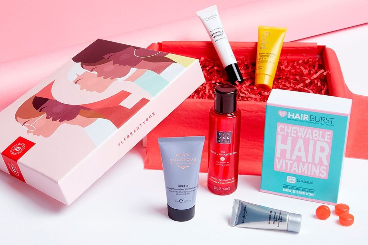 Lookfantastic Beauty Box March Unconstricted Edition 2020 - наполнение