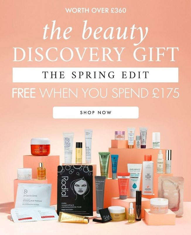Space NK The Beauty Discovery Gift: The Spring Edit Goody Bag - наполнение